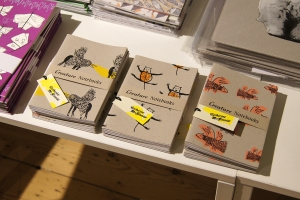 Creature Notebooks at somerset house