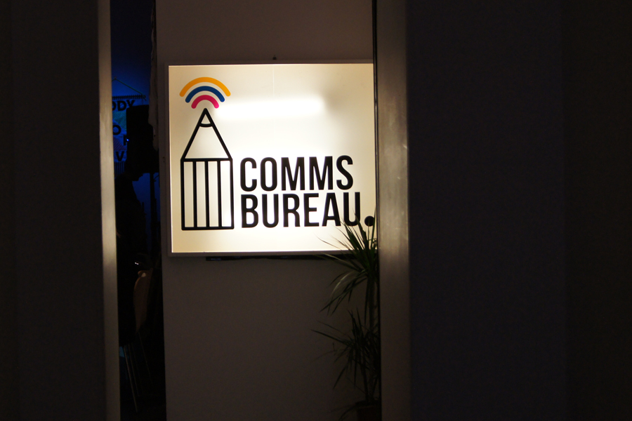 Comms Bureau Light Box