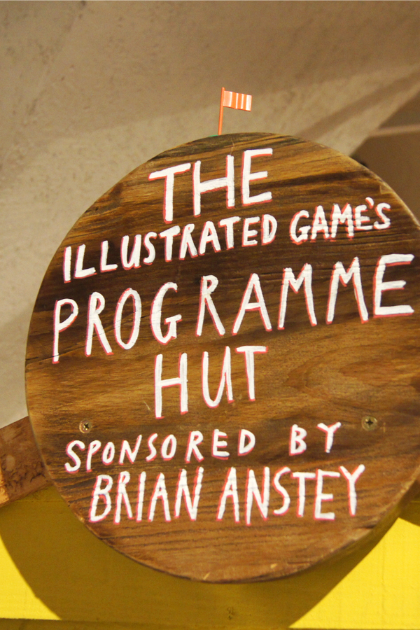 The Illustrated Games Hut