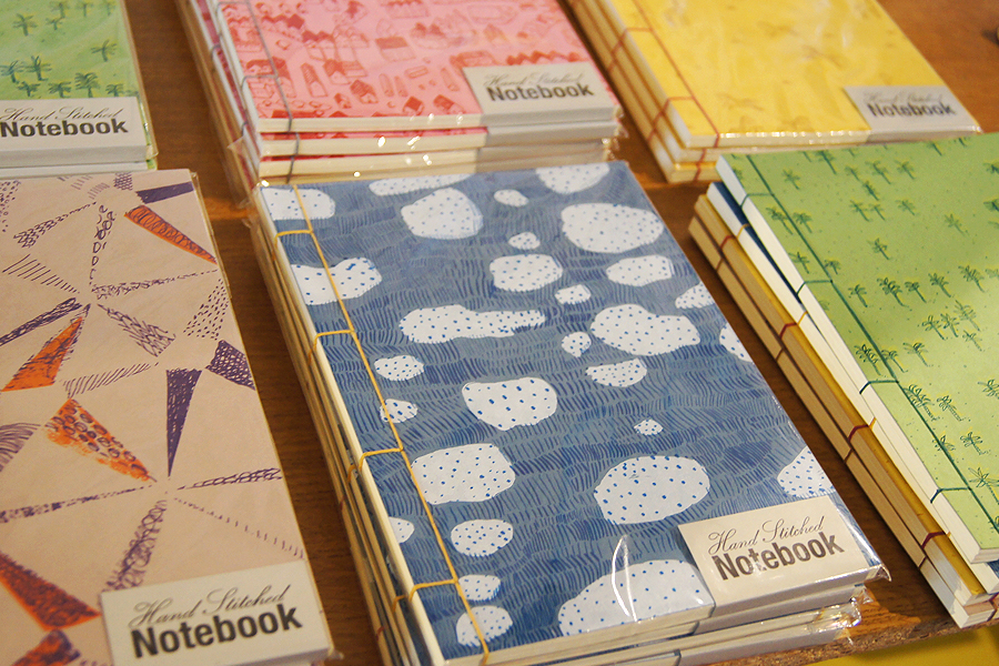 Hand Stitched Notebooks Catherine McGinniss