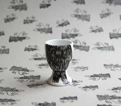 Beary Egg Cup - Side B