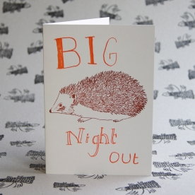 Big Night Out Card