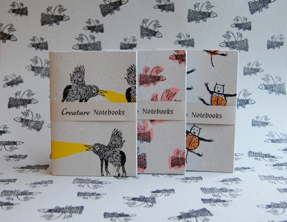 Creature Notebook Sets