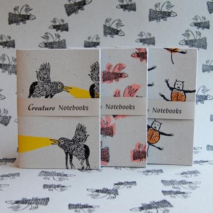 Creature Notebook Sets