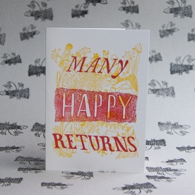 Many Happy Returns Card