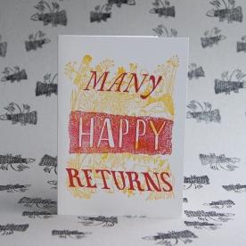 Many Happy Returns Card