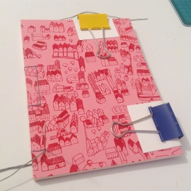 Notebook binding