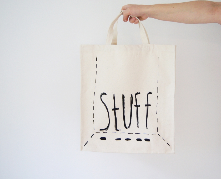 Stuff Tote Bag - Canvas