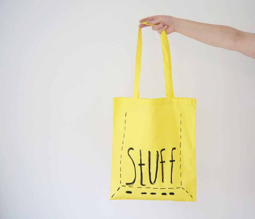 Tote Bag - Yellow stuff